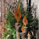 Rost Flamme 4er Set